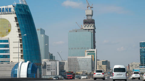 High speed road in Astana Live Action