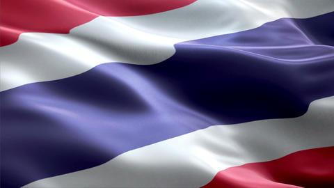 Flag Thailand Animation