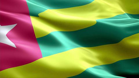 Flag Togo Animation