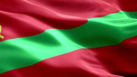 Flag Transnistria Animation