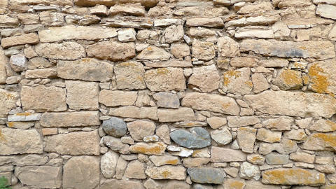 classic stone wall, old stone wall Live Action