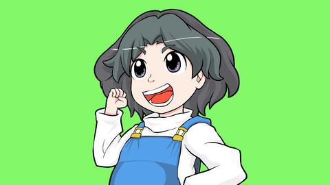 Cartoon child Animación