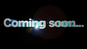Coming Soon stock footage