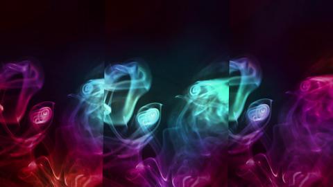 Colorful Smoke Animation