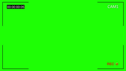 CCTV cam 1 noise chroma key Animation