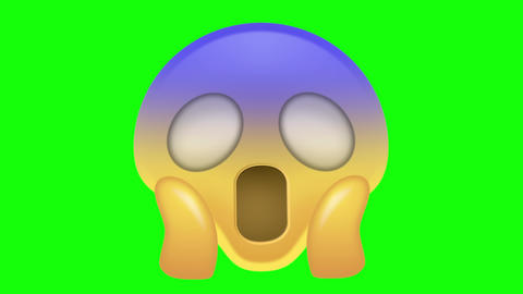 Scared Emoji Animation