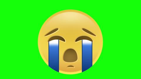 Crying Emoji Animation
