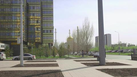 Center of new Astana GIF