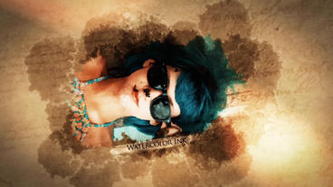 WATERCOLOR INK FLOW SLIDESHOW After Effects Template