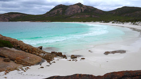 Thistle Cove, Cape Le Grand National Park, Western Australia Footage