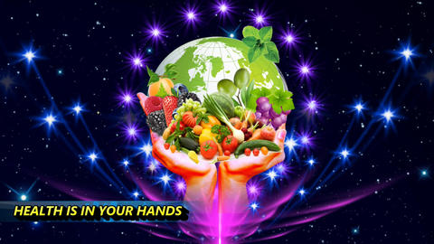 HEALTH IS IN YOUR HANDS CG動画素材
