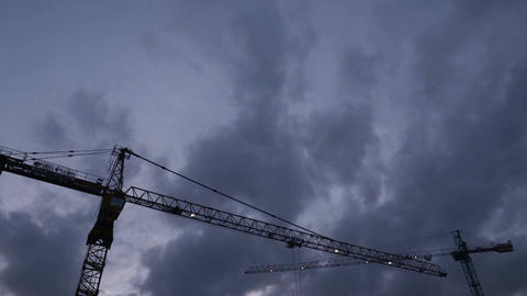 Tower Crane Time Lapse nomal 실사 촬영