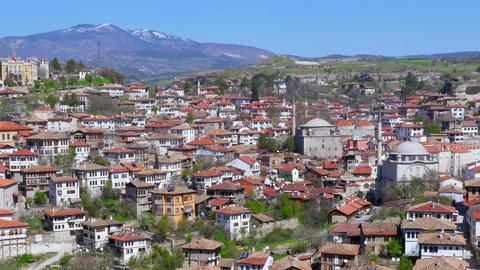 Day Timelapse, Traditional Ottoman Anatolian Village, Safranbolu, Turkey, zoom o Footage