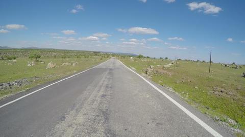 Gopro traffic on road, Turkey streets Footage