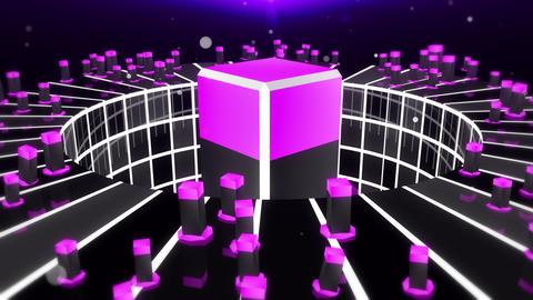 Pulse System 4K 02 Vj Loop Animation