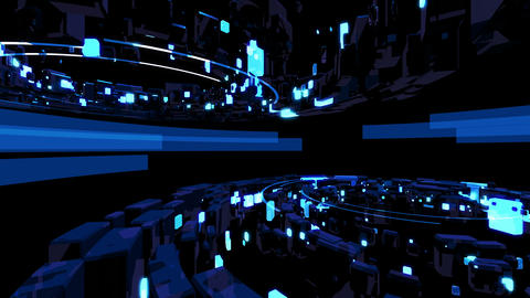 Cosmic Collider 4K 04 Vj Loop Animation