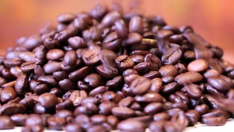 Coffee grain black rub closeup ライブ動画