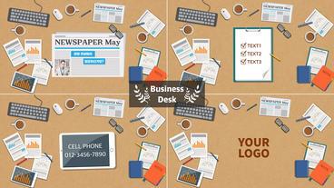 Business Desk 애프터 이펙트 템플릿