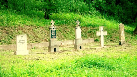 An old Christian cemetery 영상물