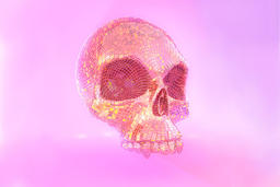 Free Skull-The Butterfly 3D Model