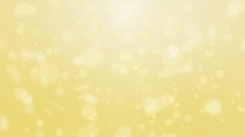 Light yellow gold bokeh background Animation