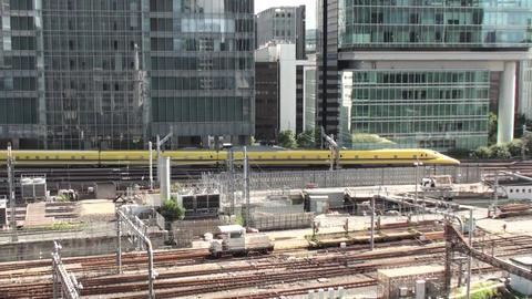 東京駅を出発したドクターイエロー ライブ動画