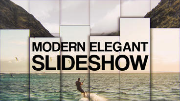 Modern Elegant Slideshow Premiere Proテンプレート