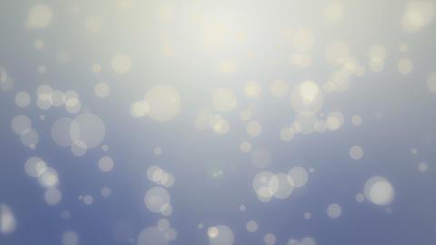 Blue yellow bokeh background GIF