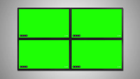 Cctv monitor display for video recording Animation