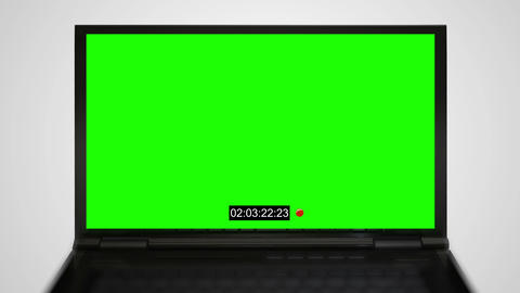 Laptop monitor display of surveillance Animation