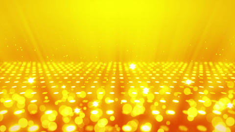 Stage Lighting Background with Many Lights Effect, Abstract Disco Loop Animation Animación
