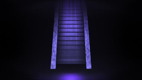 Stairway to a bright world, Light and Dark Animación