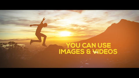 Clean Dynamic Slideshow After Effects Template