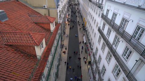 a street in Lisbon Footage