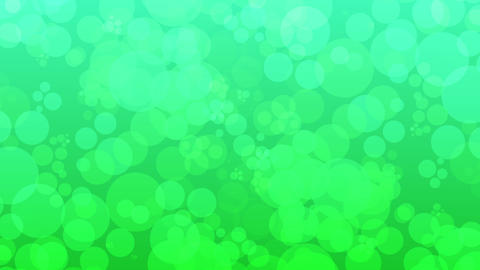 green bubble slowly moving background 動画素材, ムービー映像素材