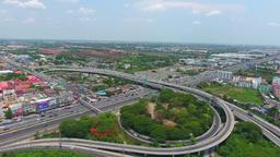 DRONE - Traffic Roads Footage