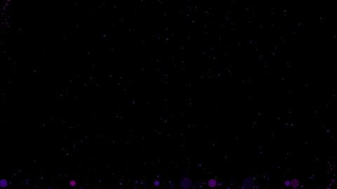 Lifting spherical background CG purple CG動画