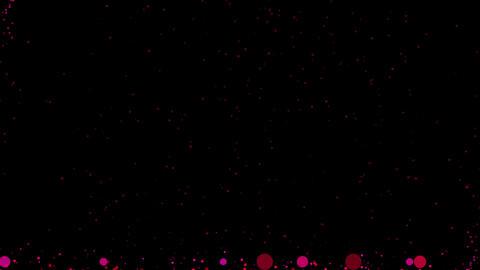 Lifting spherical background CG purple Animation