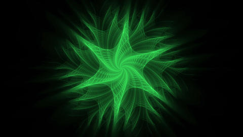 Green Flower Animation