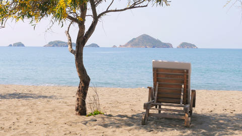 Fethiye, turkey, majestic summer travel destination, gorgeous beach sea view Live Action