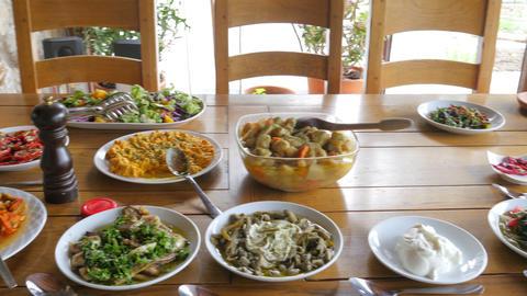 appetizer of turkish cuisine Footage