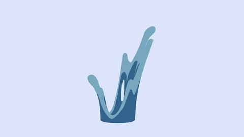 cartoon splash (small) 01 Animation