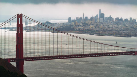 Epic Golden Gate Time-lapse Footage