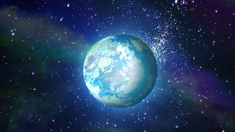 Earth_Universe CG動画素材
