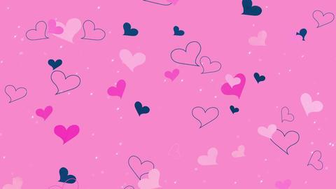 Heart_BG_2 動画素材, ムービー映像素材