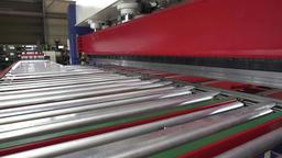 Automatic Roller Door Bending Line production Footage