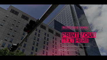 Urban Corporate Slideshow Plantilla de After Effects