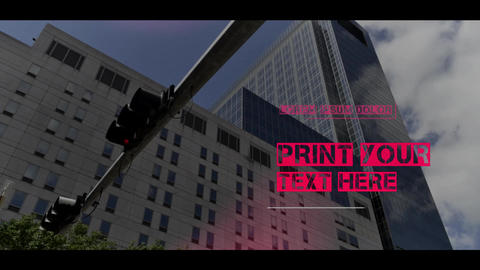 Urban Corporate Slideshow After Effects Template