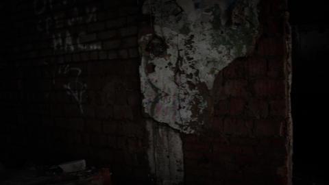 Slums abandoned buildings 2 Footage