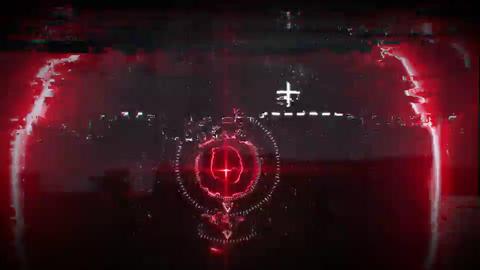 Futuristic Glitch Logo After Effects Template
